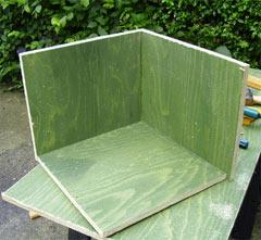 constructing a haybox