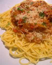 spaghettii bolognaise