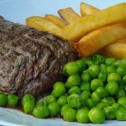 Skirt of beef steaks recipe