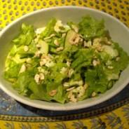 Summer Crudités salad with toasted cashews and lemony dressing recipe