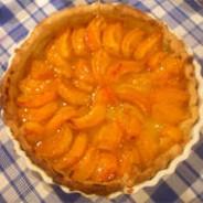 Orangette's apricot tart recipe