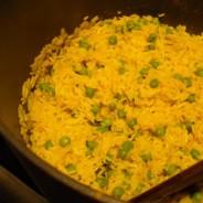 Sam Raithatha's gently spiced rice (for three)