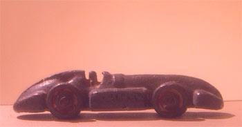 Photo: Toy racing car
