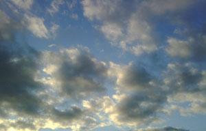 Photo: Stormy sky